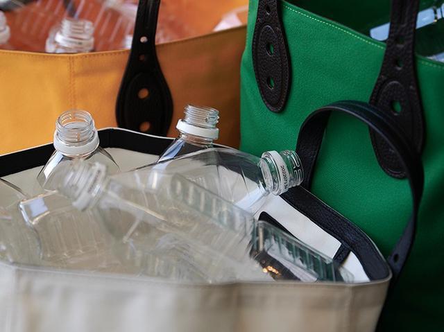 画像: リサイクルペットボトルから生まれた素材を使用する【ミチエ】の「Rpet Fabric」シリーズ 出典:ミチエ