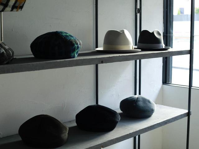 画像: 「帽子研究所 PoANCA」の店内 出典:アウラ
