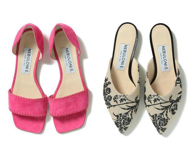 画像: 靴 各¥44,000(税抜)