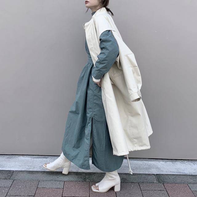画像1: 【今から履ける♪春→夏を繋ぐオープントングブーツのコーデ】