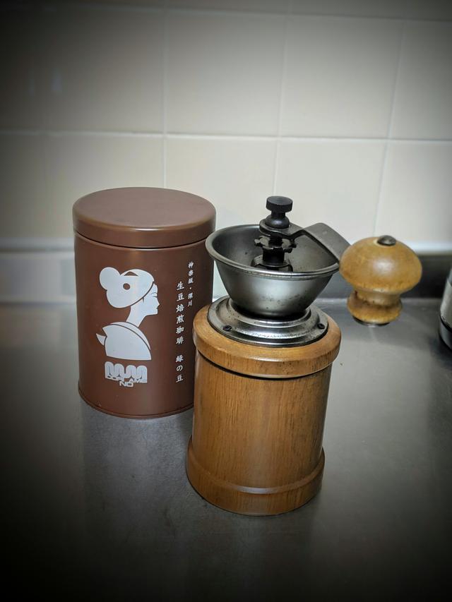 画像1: コーヒーミルで香りを逃さない