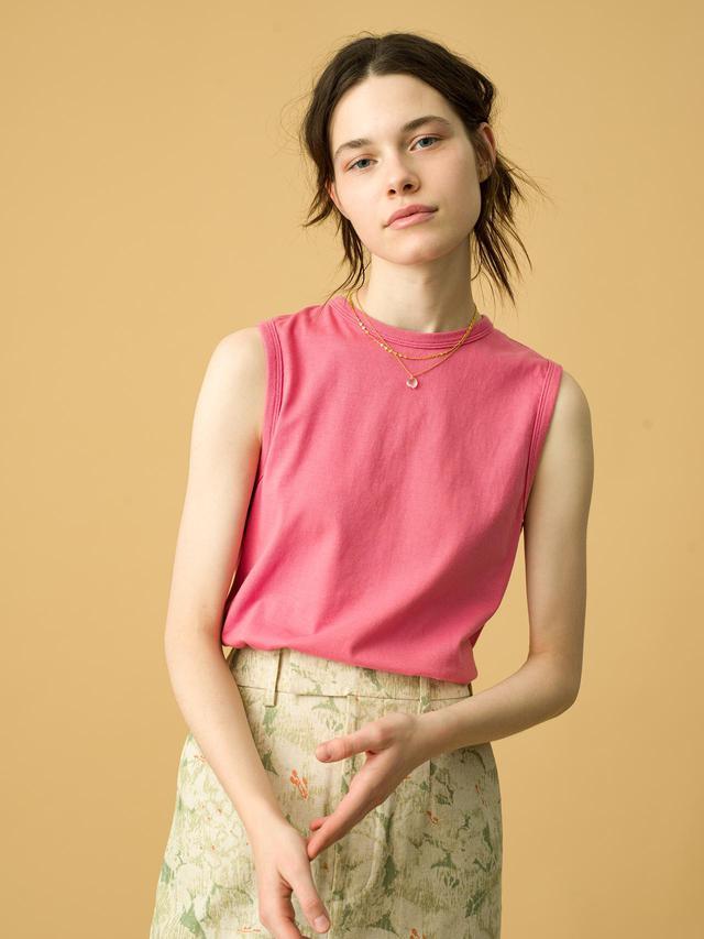 画像: Sleeveless Tee ¥9,900(税込)/Fil Melange for Ron Herman 出典:fashion trend news