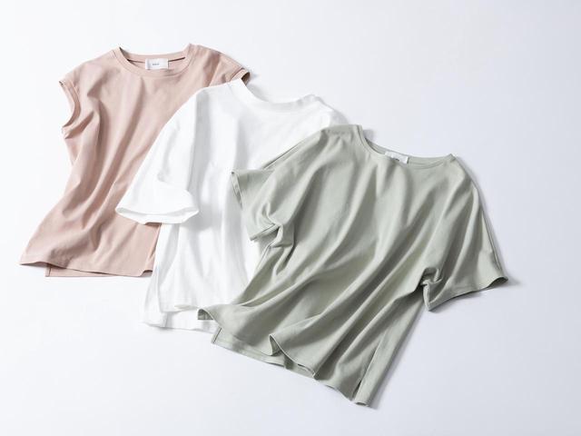 画像: 「サマ見えTシャツ」は型ごとに3〜10色を展開 出典:エルーラ