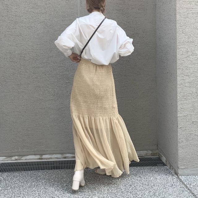 画像1: 春のMY定番!バンドカラーシャツコーデ★