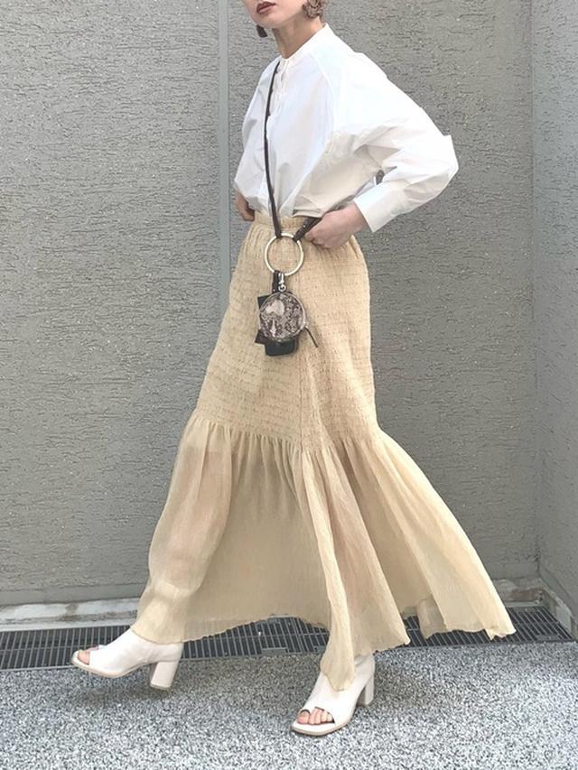 画像: Cream|Marientのシャツ/ブラウスを使ったコーディネート - WEAR