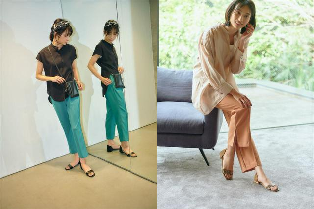 画像: 若々しいスタイリングながら、40〜50代が気になる体型をカバーする洋服を提案しています 出典:エルーラ