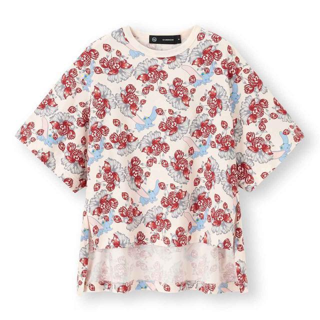 画像: ©Disney スリットチュニックT(5分袖)¥1,690(税込) 出典:fashion trend news