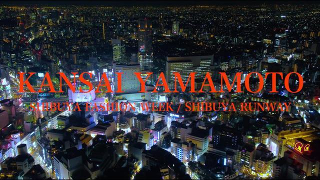 """画像: SHIBUYA FASHION WEEK - SHIBUYA RUNWAY """"KANSAI YAMAMOTO"""" youtu.be"""