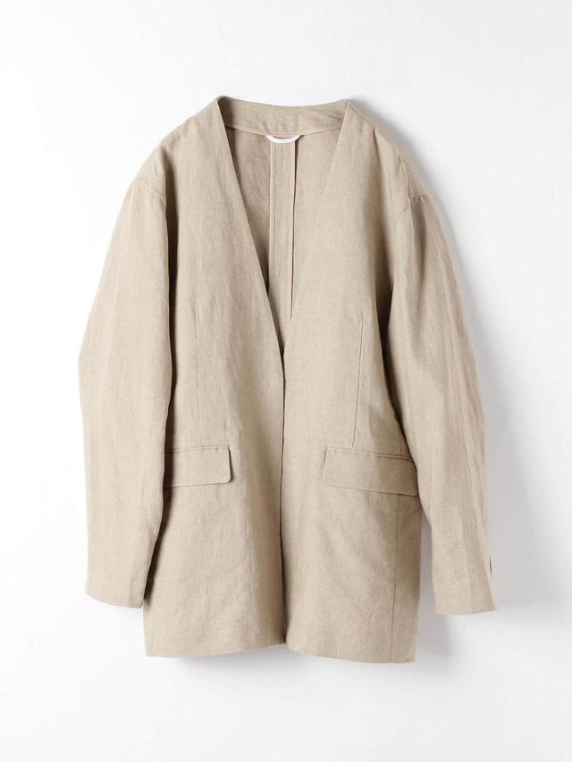 画像: リネンジャケット¥13,900(税込) 出典:fashion trend news