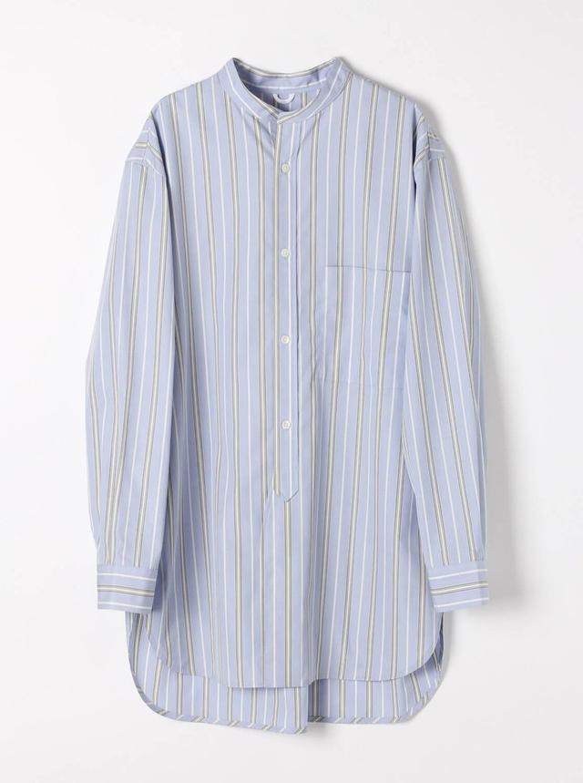 画像: バンドカラーロングシャツ¥9,900(税込) 出典:fashion trend news