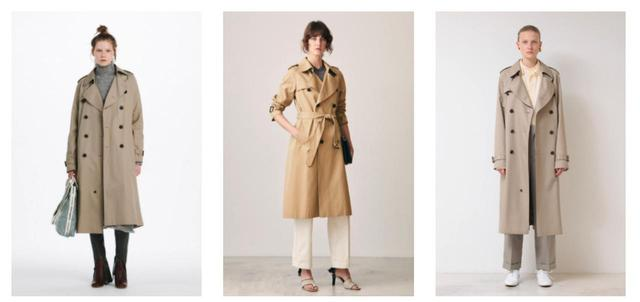 画像: アルティメイトピマツイルマキシロングトレンチコート(写真左)¥115,000/アルティメイトピマロングトレンチコート(写真中央)¥105,000/アルティメイトピマツイルマキシロングトレンチコート(写真右)¥97,000(現在30%OFFの67,900円で発売中) 出典:fashion trend news