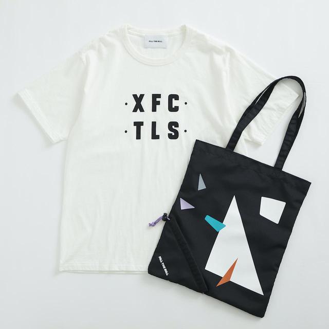 画像: Tシャツ¥11,000、バッグ¥5,500ともに【フィル ザ ビル】 出典:ユナイテッドアローズ