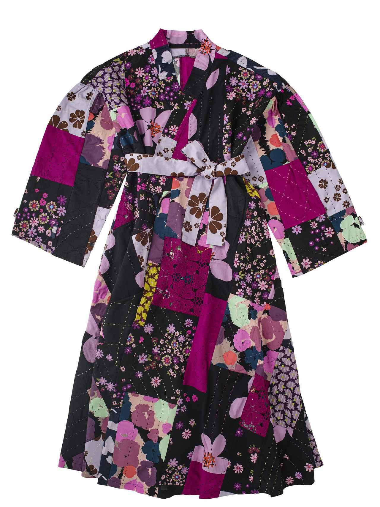 画像: <ドレス>patchwork dress ¥110,000 出典:ftn