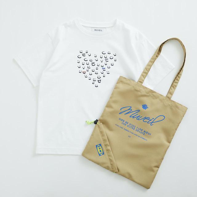 画像: Tシャツ¥16,500、バッグ¥5,500ともに【ミュベール】 出典:ユナイテッドアローズ