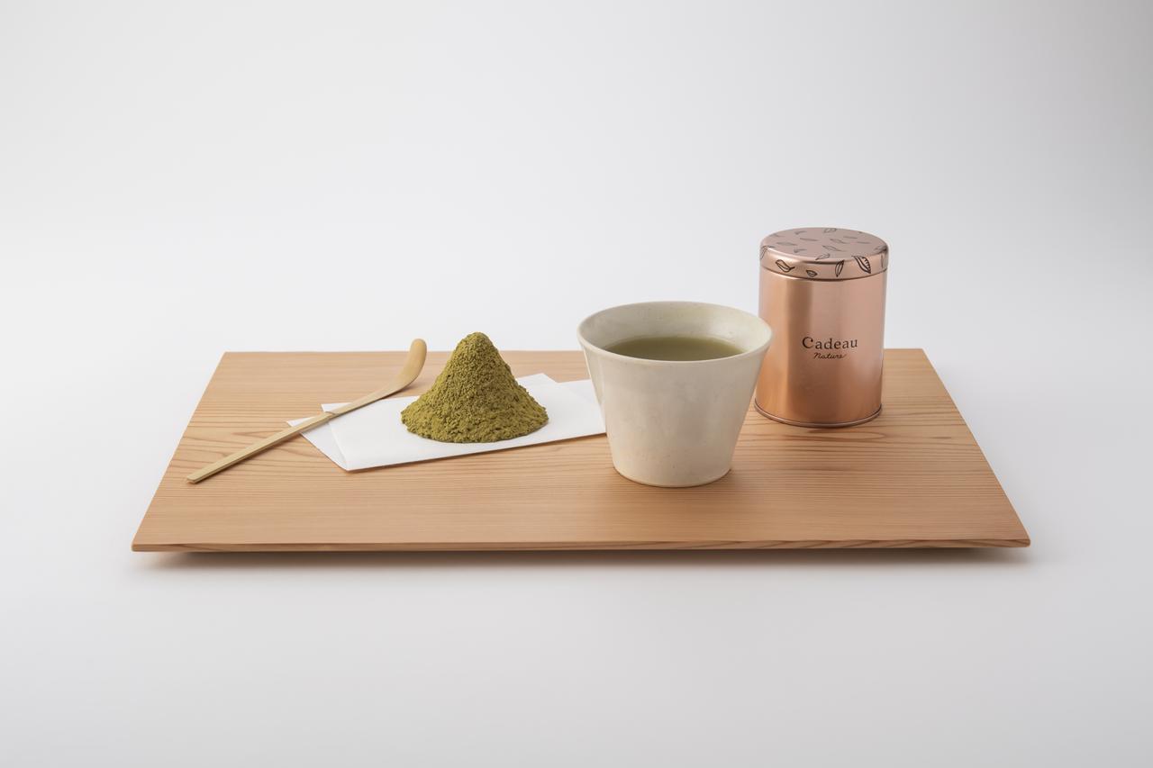 画像: 日本茶は粉茶40g缶で¥1,706~¥1,922 出典:ftn