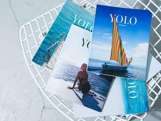 画像: 「YOLO JOURNAL」各¥2,860。今回の企画に合わせ、【ロンハーマン】各店でも取り扱われます 出典:ロンハーマン