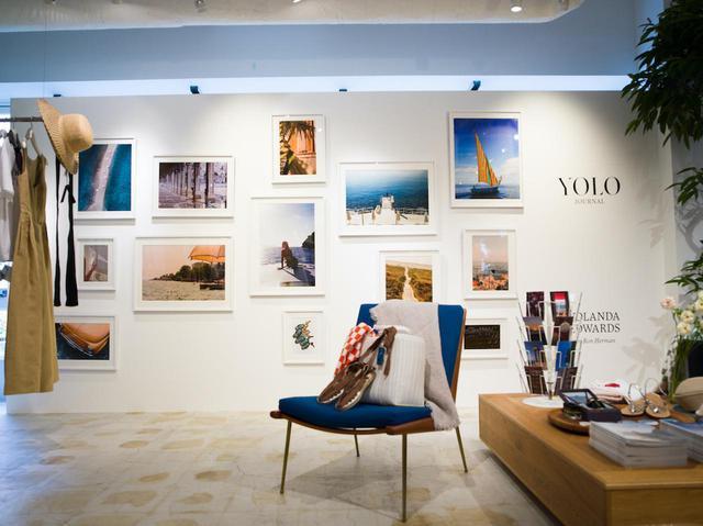 画像: ロンハーマン千駄ヶ谷店では「YOLO JOURNAL」の写真展を実施中する 出典:ロンハーマン