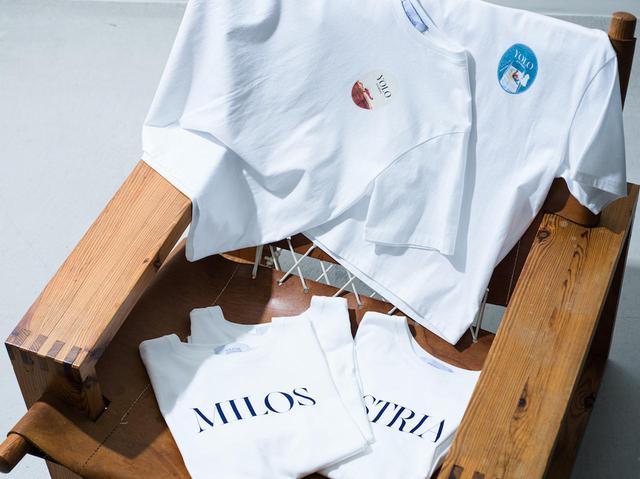 画像: プリントTシャツ各¥9,900 出典:ロンハーマン