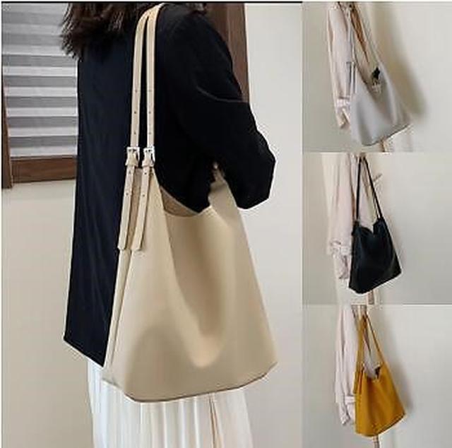 画像1: [Qoo10] 新作大容量ファッションショルダーバッグ : バッグ・雑貨