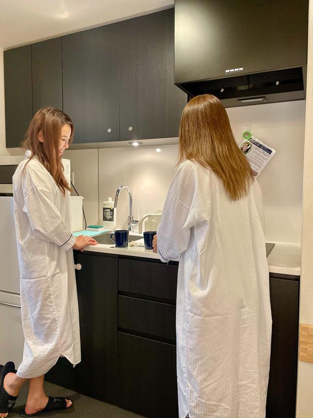 画像: キッチンがあれば、全て部屋で完結◎