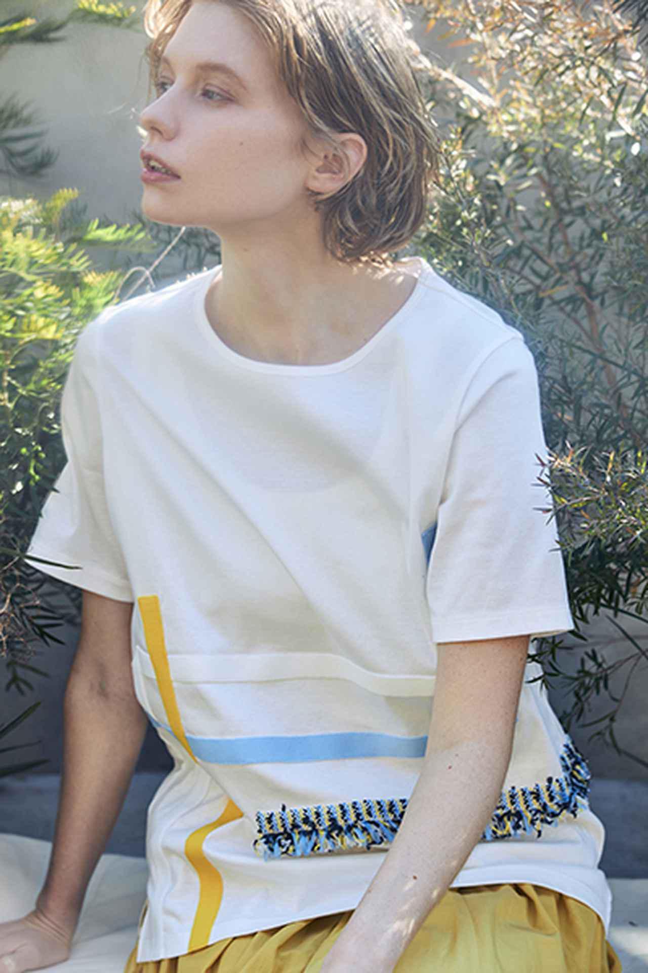 画像: ニットツイードテープTシャツ¥18,700(税込) 出典:fashion trend news