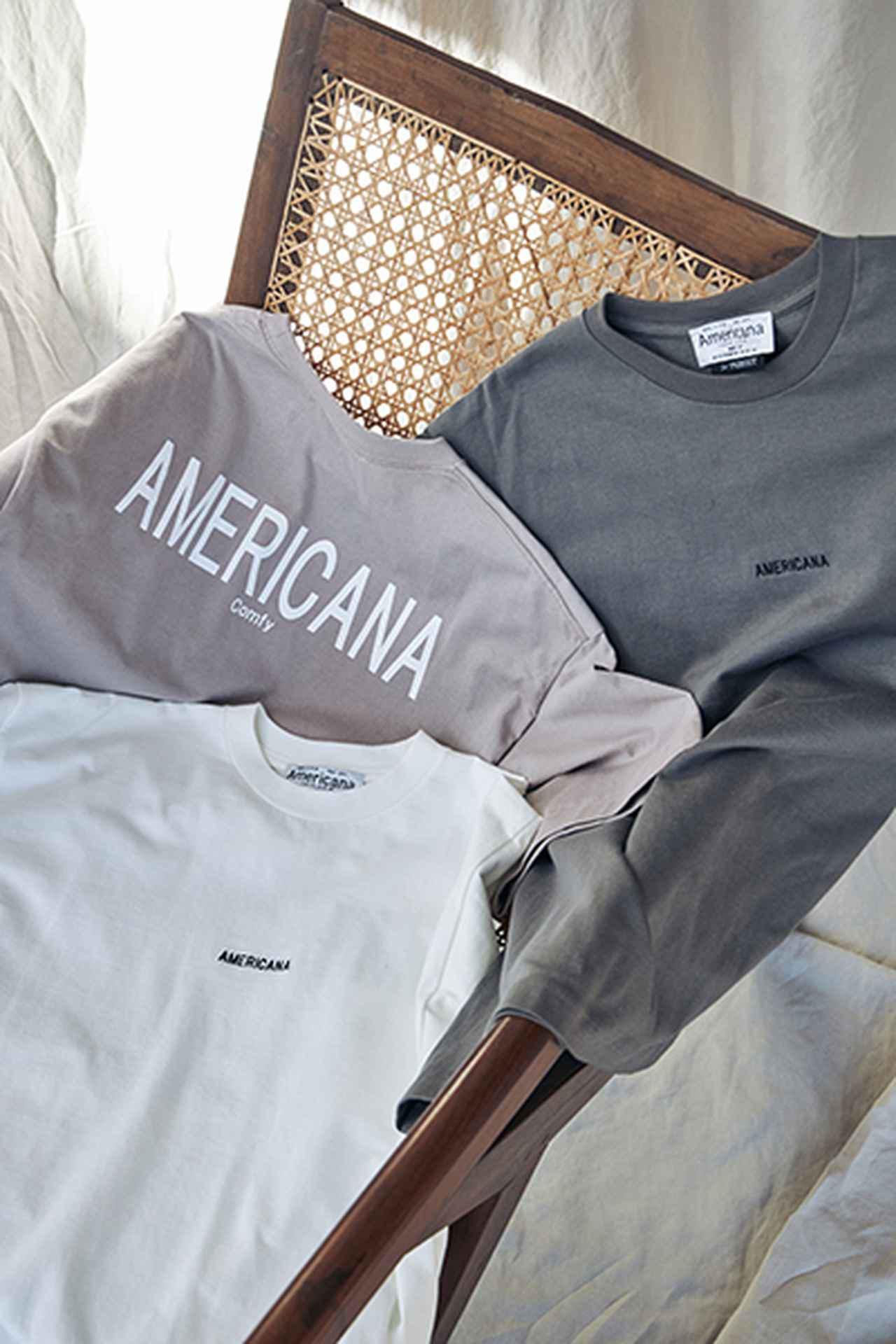 画像: プリントTシャツ各¥8,690(税込) 出典:fashion trend news