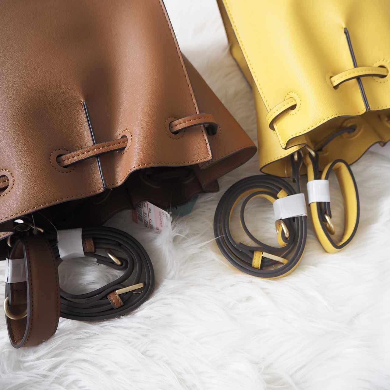 画像: 2種類のショルダー紐が付属しています。 www.instagram.com