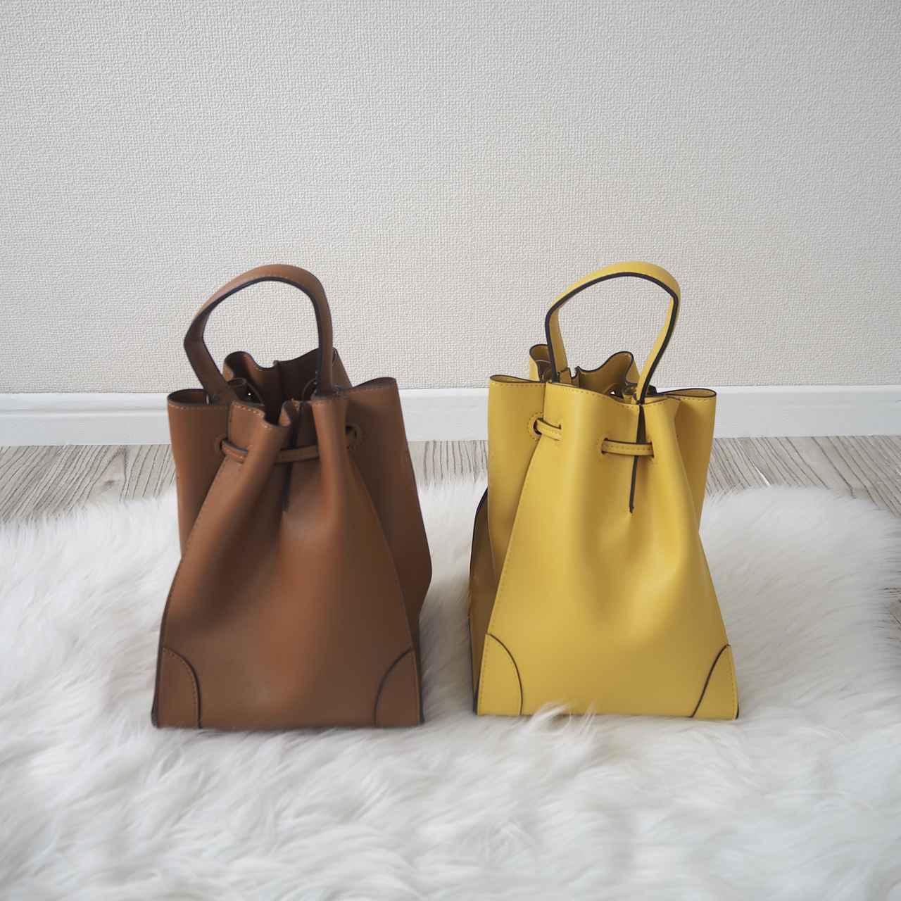 画像: ポケットを後ろにするとシンプルなバッグに変身。 www.instagram.com