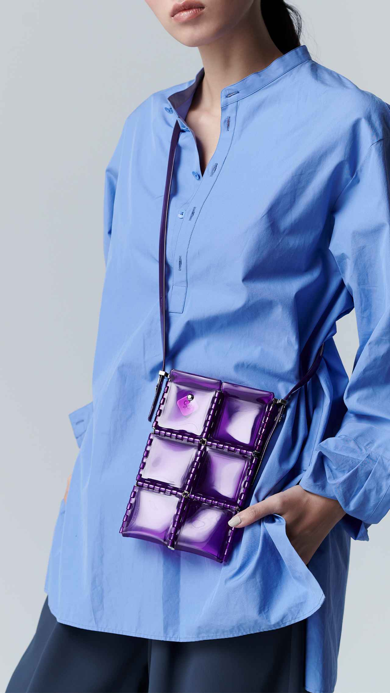 画像: 「ポケット」[縦20×横13.5×マチ1cm]¥16,500 出典:52 BY HIKARUMATSUMURA