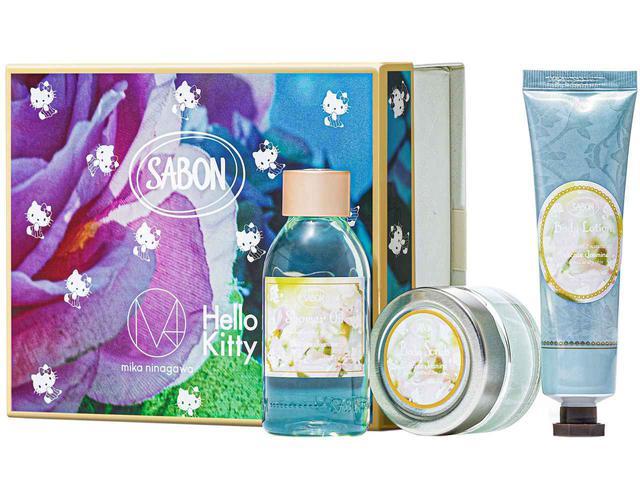 画像: 「ボディケアキット」(シャワーオイル100mL、ボディスクラブ60g、ボディローション50mL)¥4,070※写真はデリケート・ジャスミンの香り 出典:SABON JAPAN