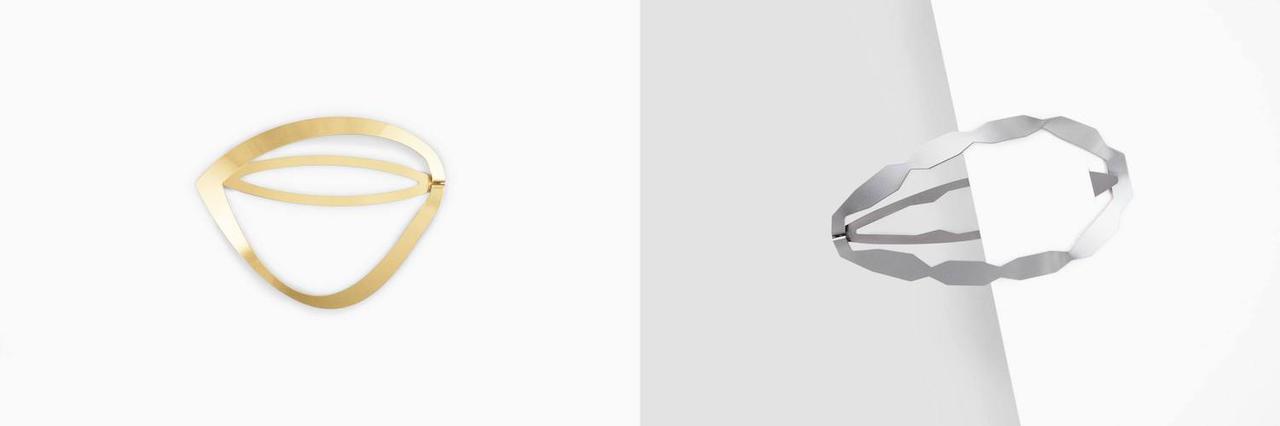 画像: 右「CLINQ NADIA」¥12,850、左「 CLINQ BARBARA」¥14,850ともに【デコール アーバンリサーチ】 出典:アーバンリサーチ