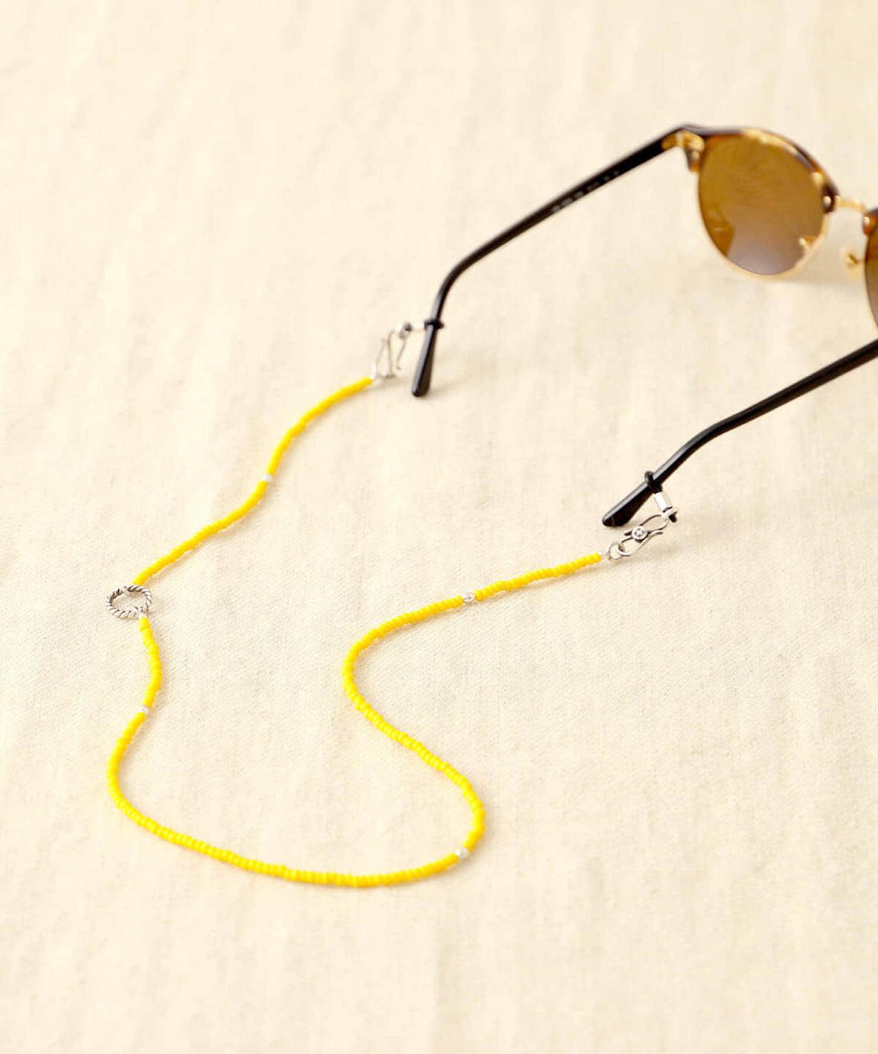 画像: 「MASATO INOUE / ビーズ グラスコード & ネックレス」¥16,060【ビームス プラネッツ】 出典:ビームス プラネッツ