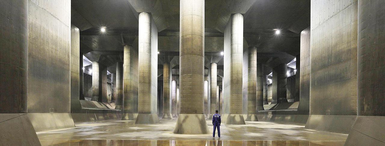 画像: 首都圏外郭放水路