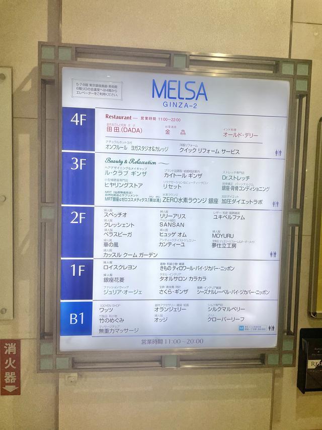 画像: MELSA GINZA-2に登場!