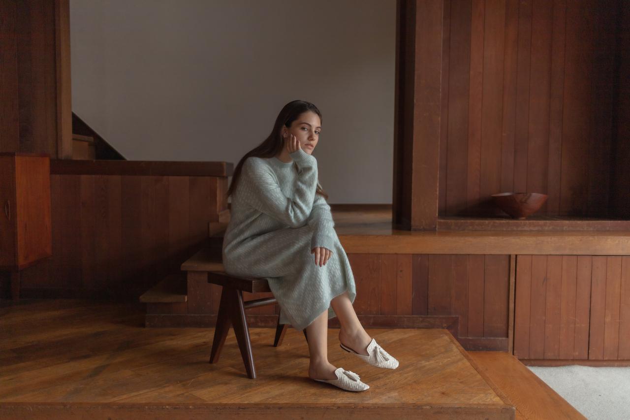 画像: 「KIKAニットドレス」¥14,000※2021年10月5日(火)〜10月18日(月)が受注期間 出典:ノール・ケアド
