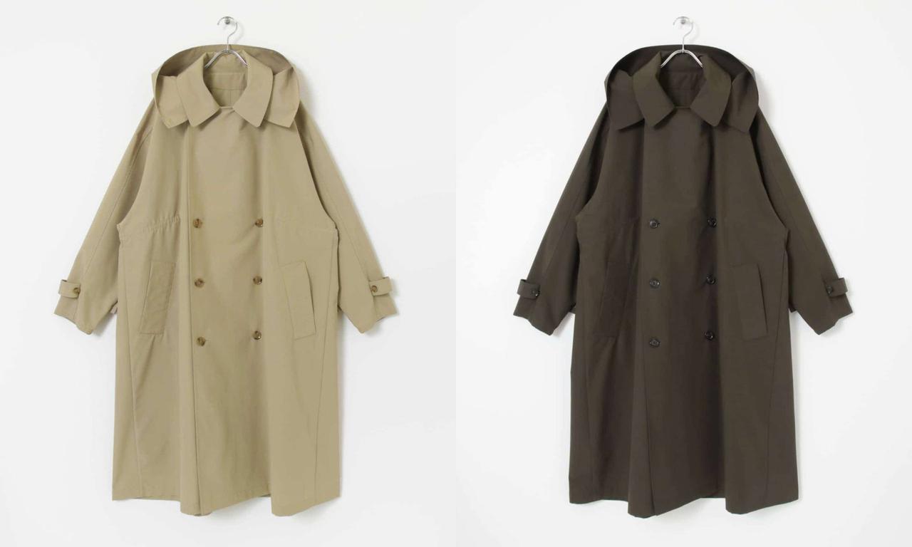 画像: 「exclusive trench coat」各¥61,600【ヴァシュモン×URBS】 出典:アーバンリサーチ