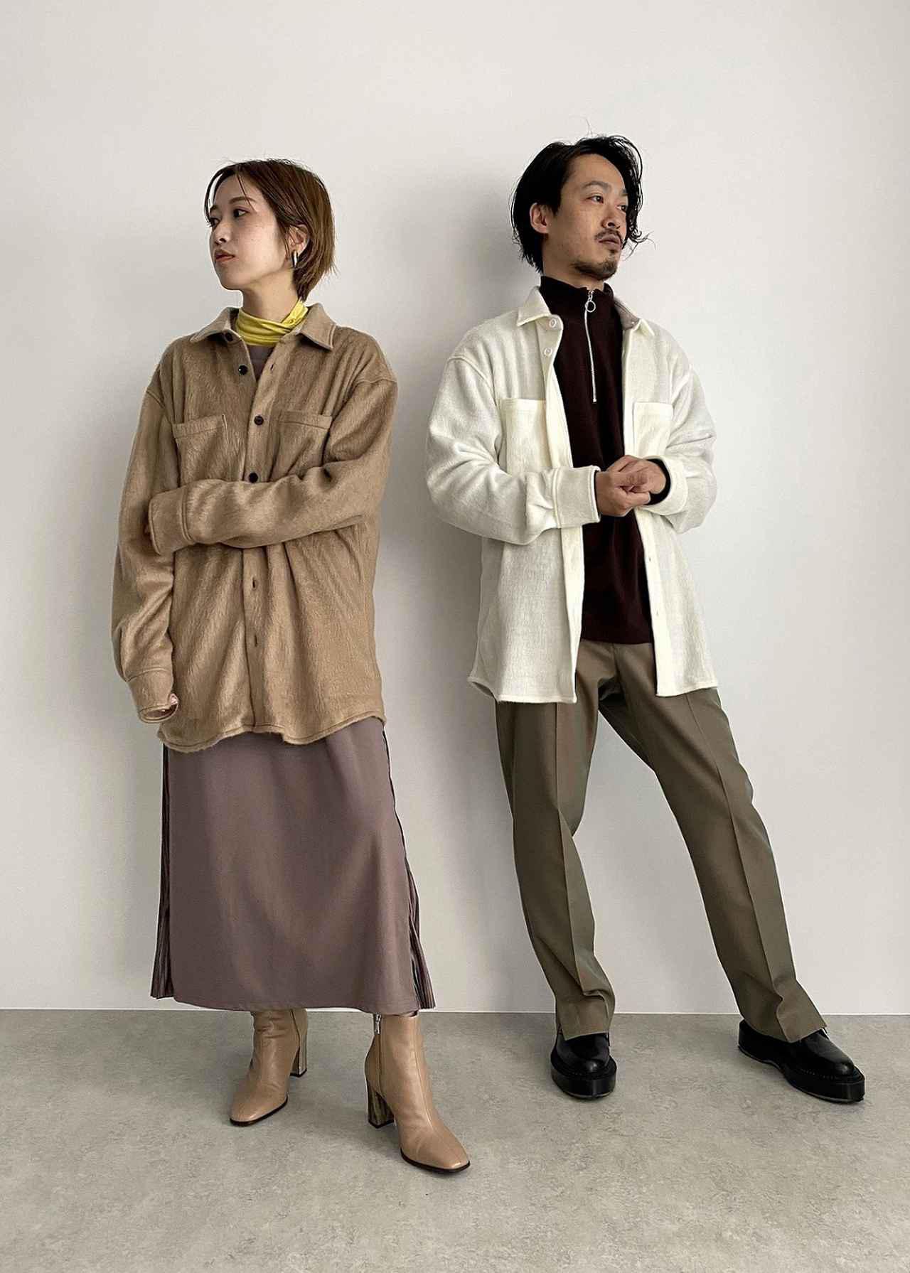 画像: シャギーシャツ税込価格:¥24,200 出典:ftn