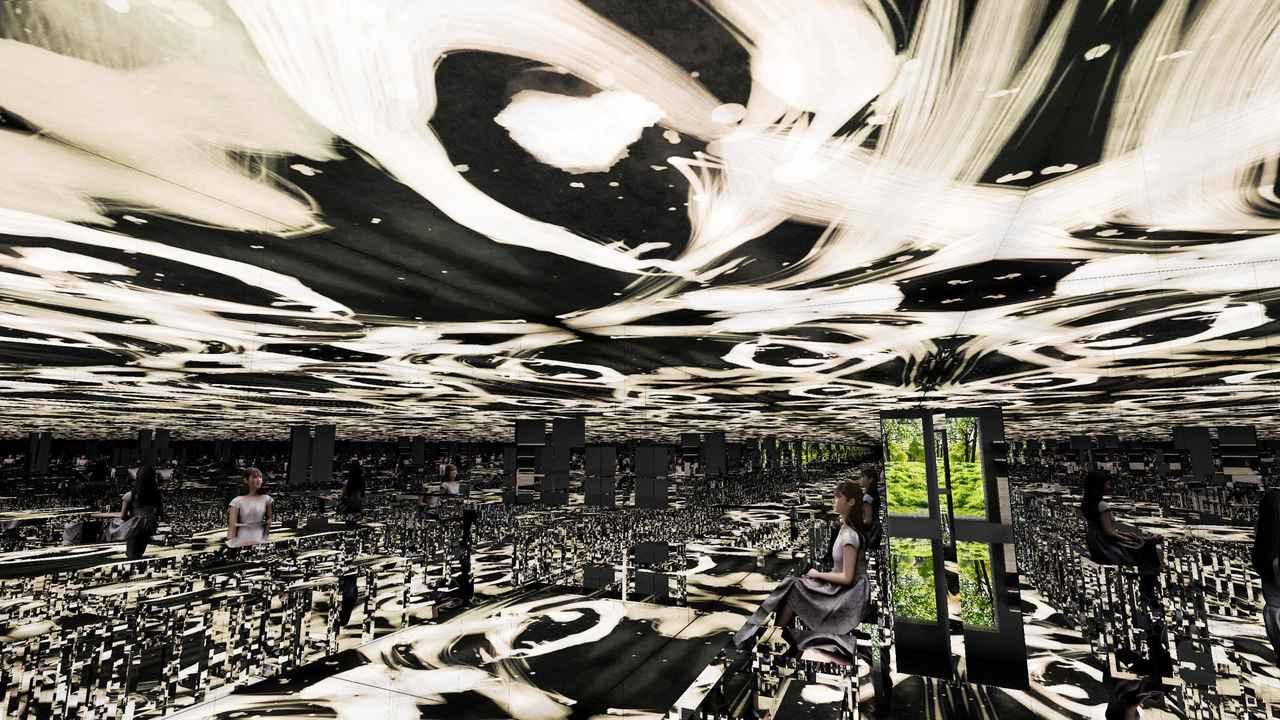 画像: アート作品の空間で食べれる?!