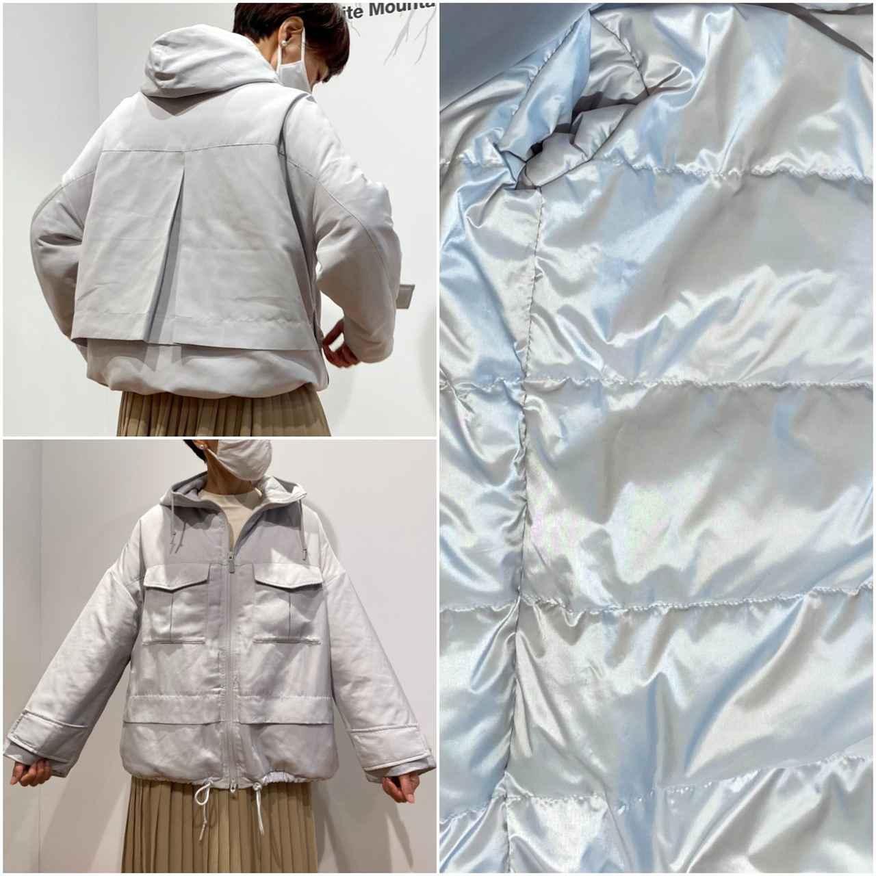 画像2: ハイブリッドダウンオーバーサイズパーカ¥9,990/ユニクロ(ユニクロ アンド ホワイトマウンテニアリング) 出典:fashion trend news