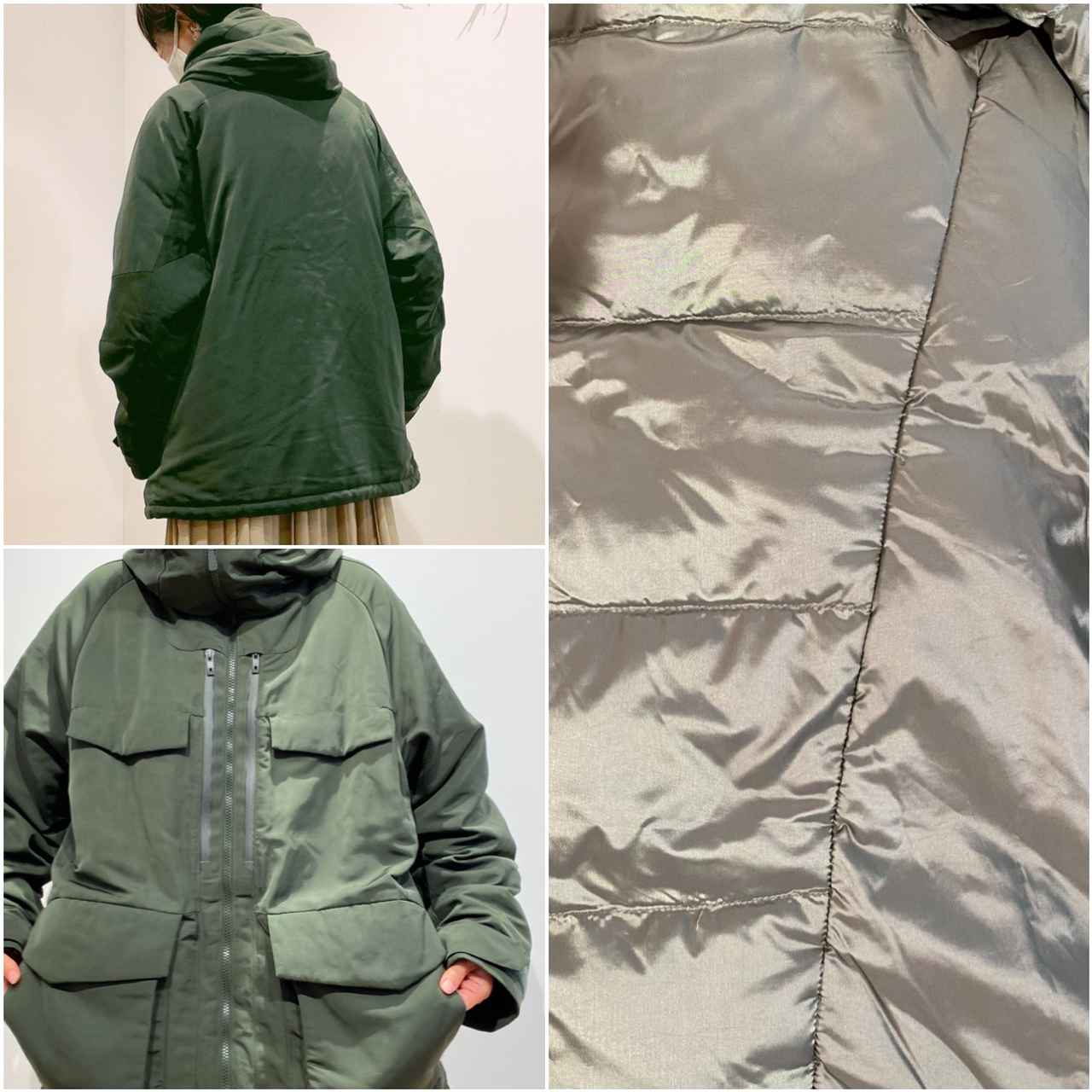 画像2: ハイブリッドダウンオーバーサイズパーカ¥12,900/ユニクロ(ユニクロ アンド ホワイトマウンテニアリング) 出典:fashion trend news