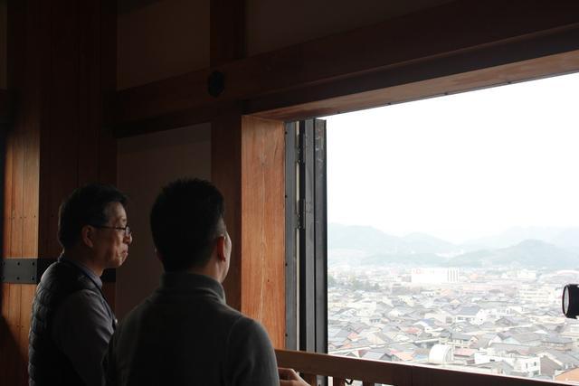 画像3: 福知山城!