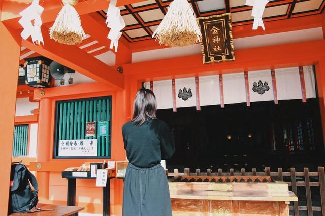 画像: 岐阜三社のひとつ金神社へ