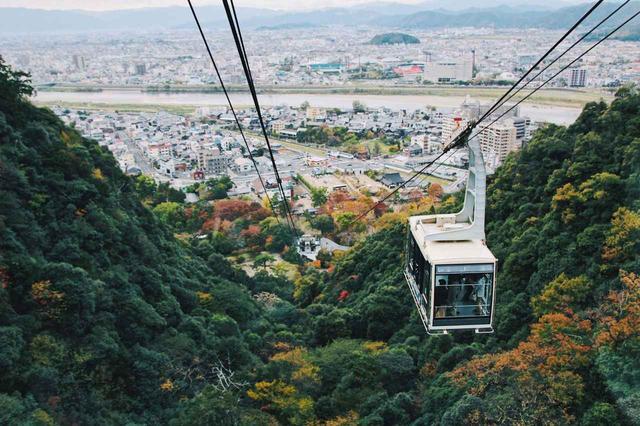 画像2: 金華山ロープウェーで山頂の岐阜城へ