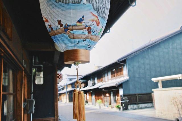画像2: 川原町の古い町並みで旅情にひたる