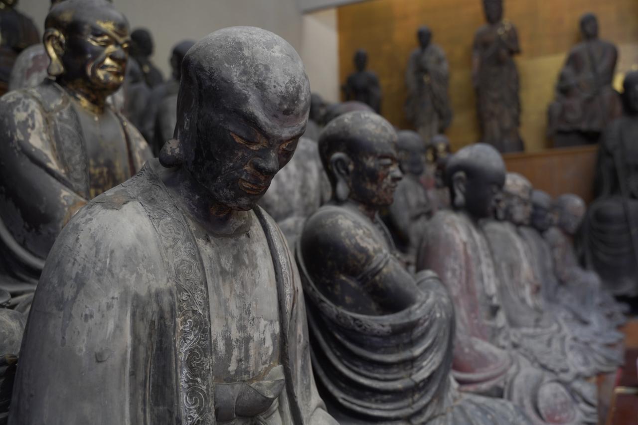 画像: ▲彫刻としても優れた五百羅漢寺の羅漢像は、上野の西郷隆盛像で知られる高村光雲も彫刻の勉強をするために訪れていたというほど