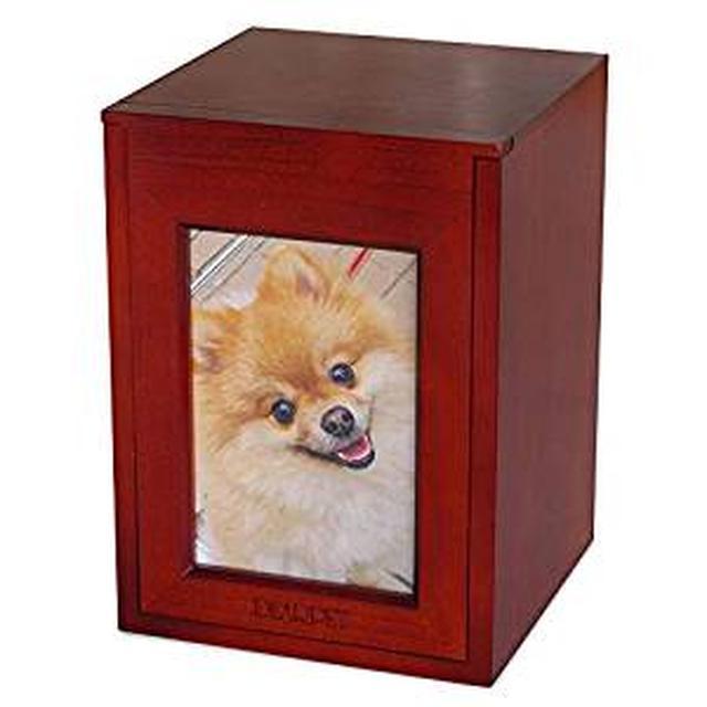 画像: 国産ペット仏壇 クリメイションボックス(ブラウン)