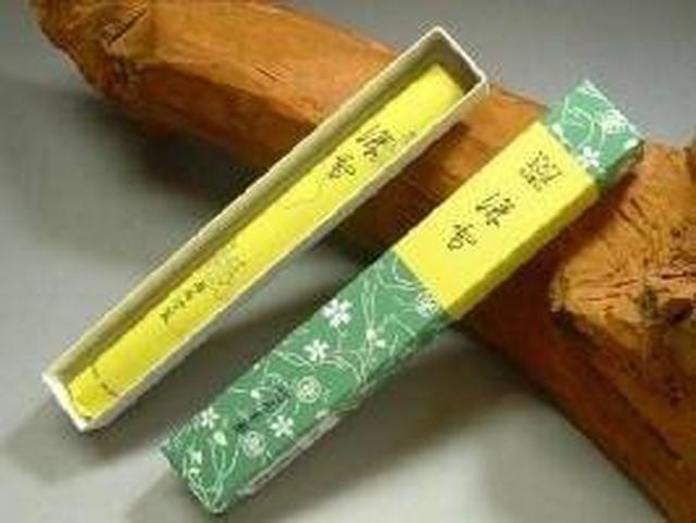 画像: 鳩居堂の線香 深雪 紙箱 短寸1把入 17cm