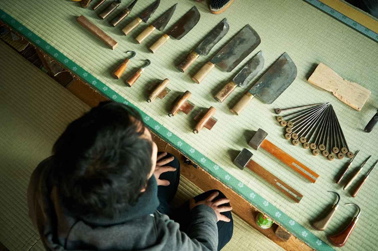 画像3: 先代から引き継いだ道具と意思。四代目として踏み出した新たな一歩