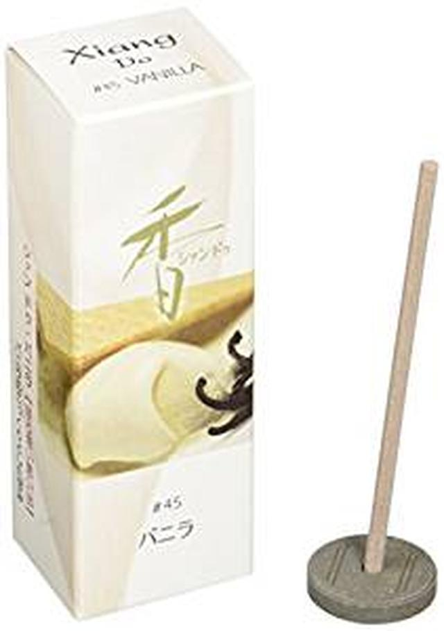 画像: 松栄堂のお香 Xiang Do(シャンドゥ) バニラ ST20本入 簡易香立付