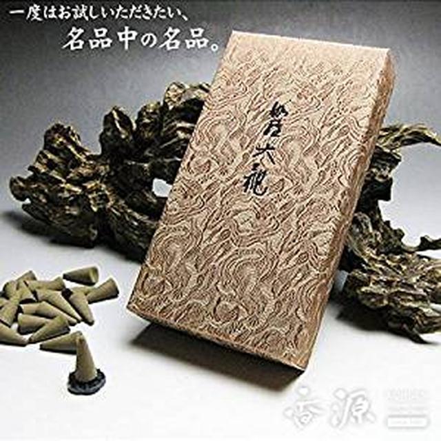画像: 日本香堂のお香 伽羅大観 コーン型 24個入